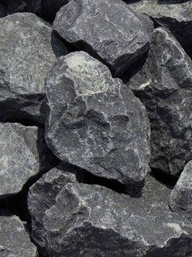 Basalt breuksteen 50 - 80mm (5 - 8cm)