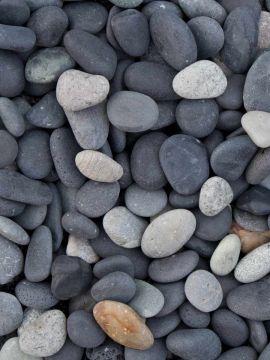 Beach pebbles losgestort
