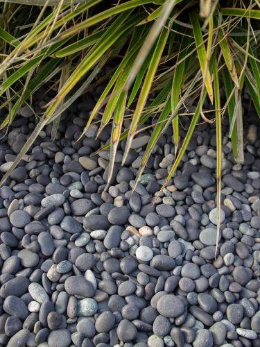 Beach pebbles 8 - 16mm aangelegd