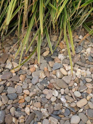 Betongrind / drainagegrind 4 - 16mm aangelegd