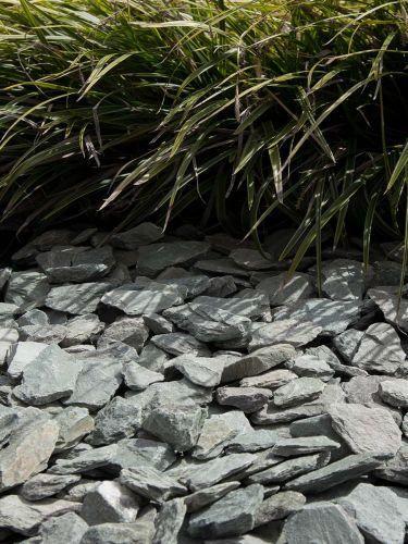 Canadian slate groen 30 - 60mm (3 - 6cm) aangelegde tuin