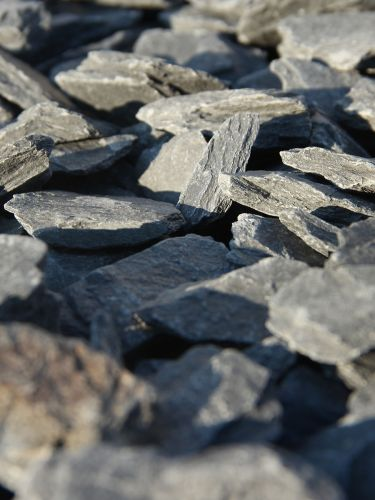 Canadian slate zwart 30 - 60mm close-up
