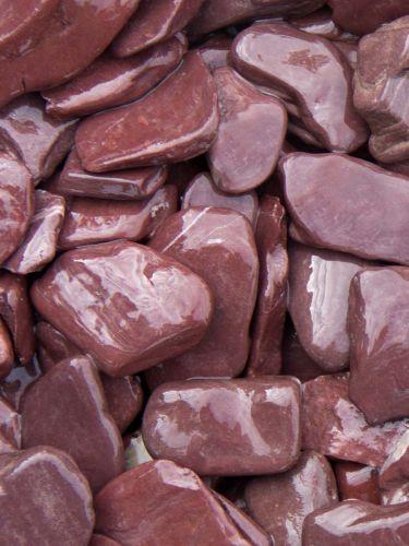 Flat Pebbles paars 30 - 60mm (3 - 6cm) (nat)