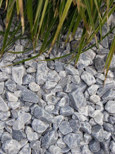 Ice blue grind 16 - 25mm aangelegd