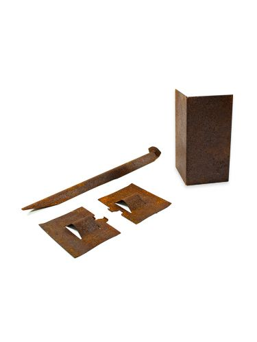 Multi-Edge ADVANCE Corten Afboording Hoekstuk set