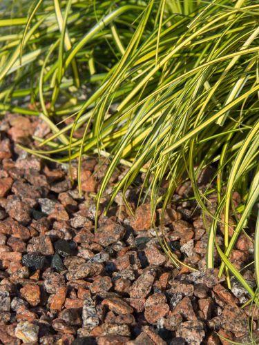 Schots graniet 8 - 16 aangelegd (nat)