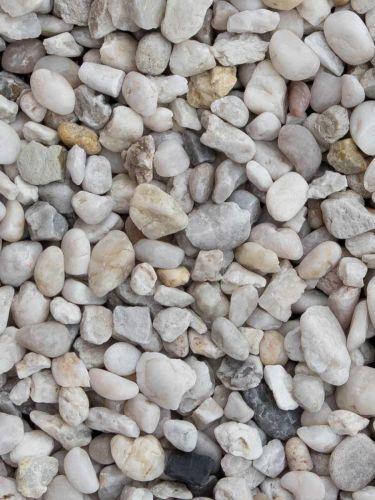 Witte kwarts 8 - 12mm
