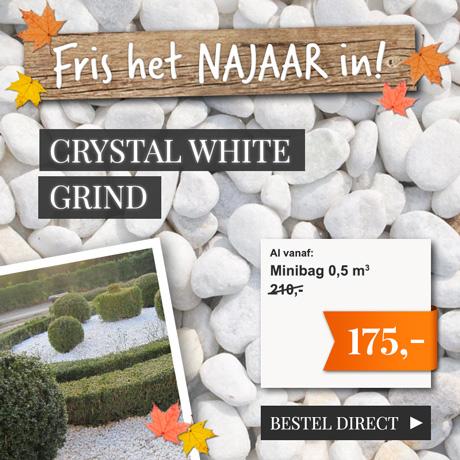 Lente-actie Crystal White Split NL