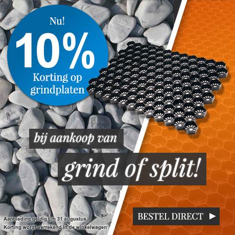 10% korting NL + BE splitplaten