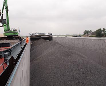 Een kijkje in de vervoerswereld van grind