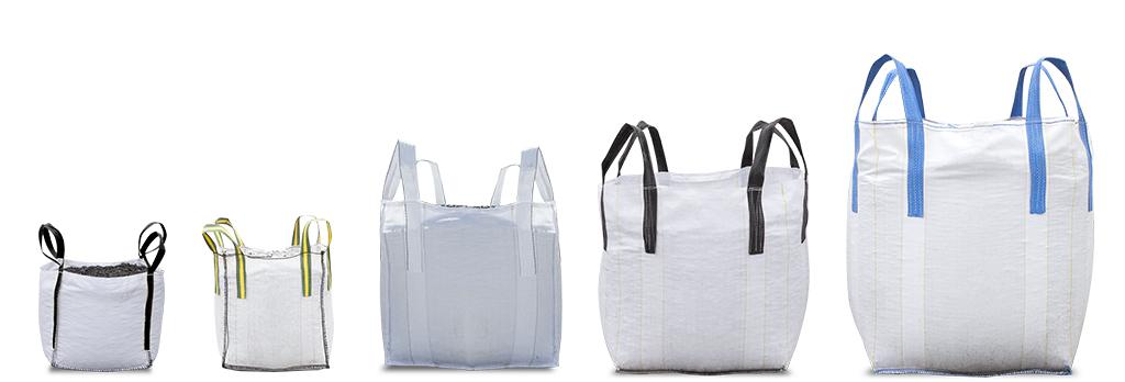 Minibags, Midibag en Bigbags