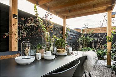Eigen Huis Tuin Limburgs Witte Grind Binnenkant Overkapping