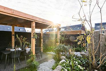 Eigen Huis Tuin Limburgs Witte Grind Overkapping