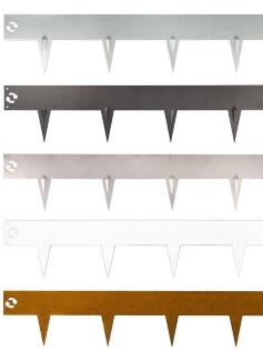 Kantopsluiting Multi-Edge Metal alle uitvoeringen
