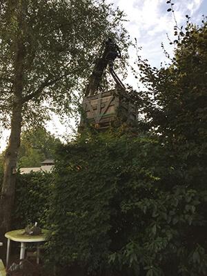 Levering over de heg