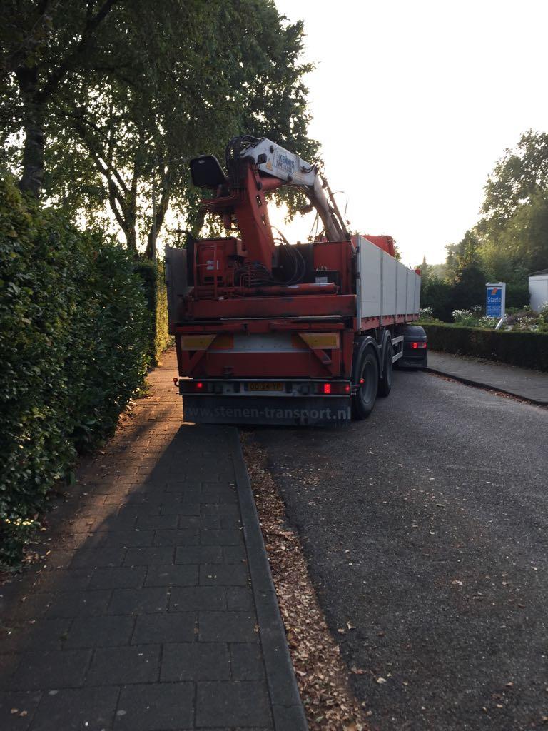 levering bigbag over heg