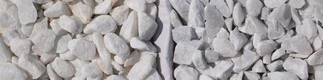 Crystal white versus Carrara